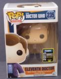 Dr Who 11th Doctor & Cyberman Head SDCCComic Con 2015 Exclusive Pop! Vinyl Figure